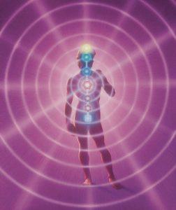 Violet Flame Chakra Man